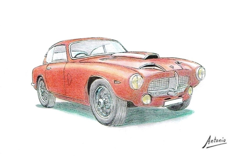 Pegaso Z-102 Berlineta Touring 1 (1954)