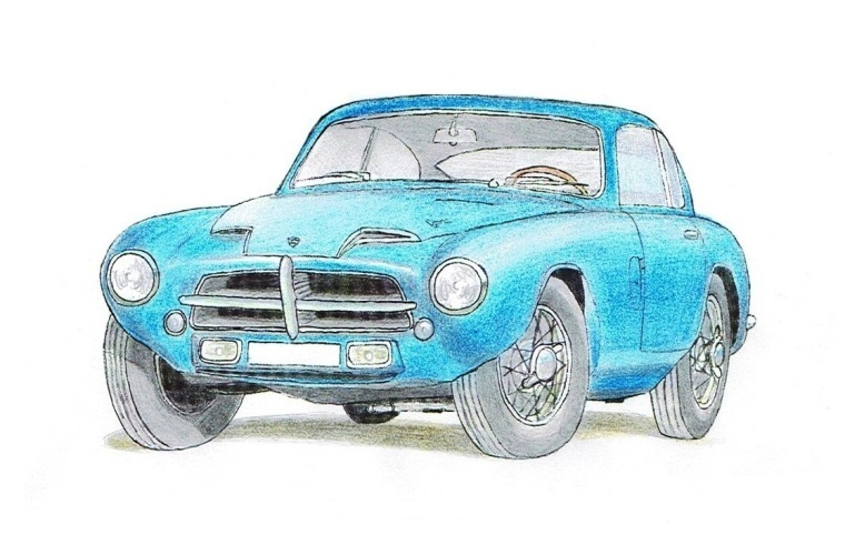 Pegaso Z-102 Berlineta Touring 2 (1955)