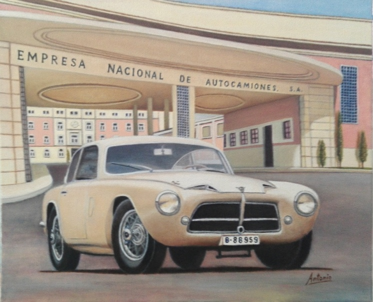 Pegaso Z-102 Berlineta Touring 1 (1953)